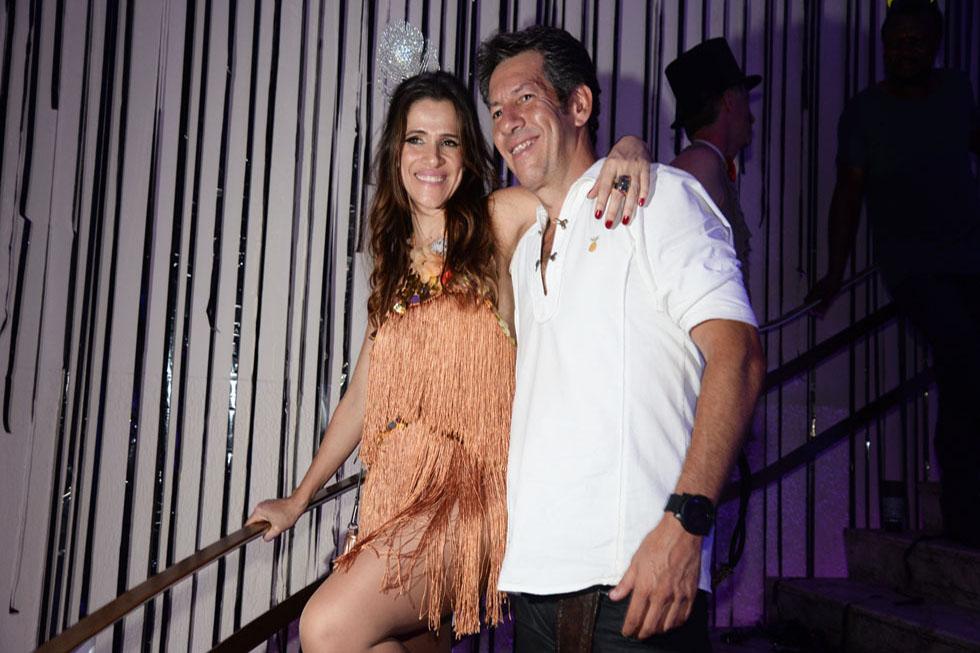 Ingrid Guimarães e Rene Machado (Foto: Juliana Rezende/Reprodução)