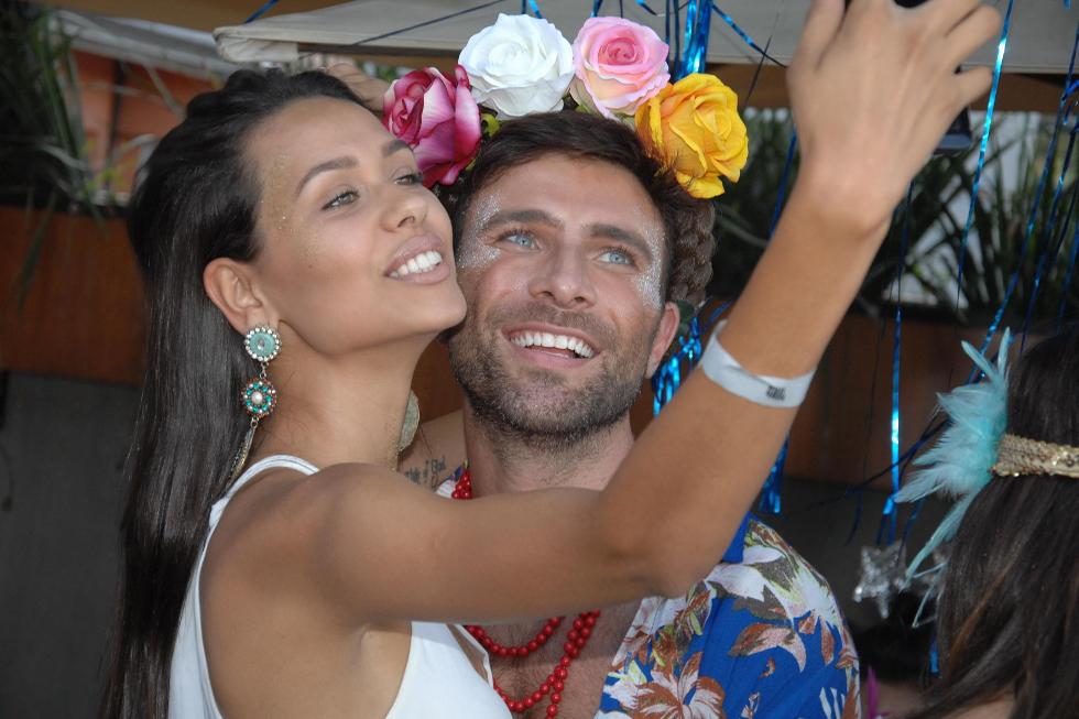 Michelle Sobrinho e Diego Rodrigues (Foto: Augusto Mestieri/Reprodução)