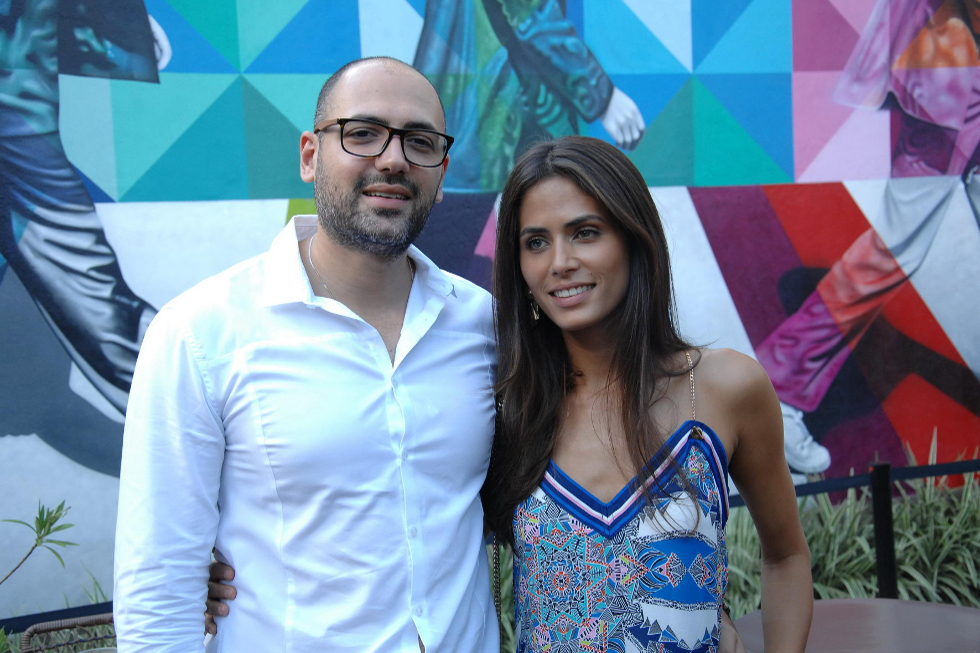 Renato Cury e Ester Rocha (Foto: Augusto Mestieri/Reprodução)