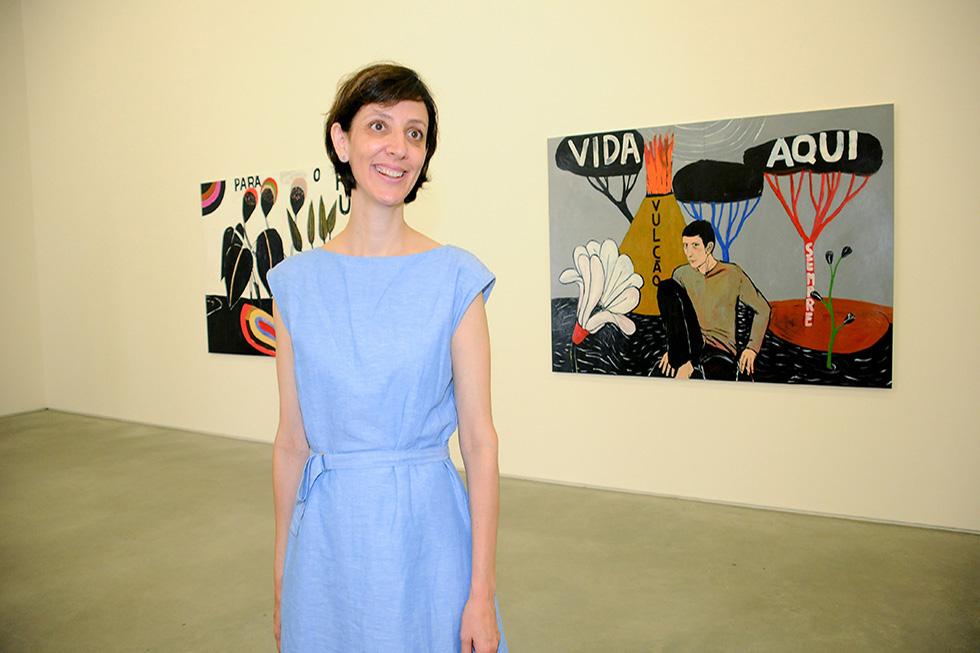 Sandra Cinto (Foto: Bruna Guerra/Reprodução)