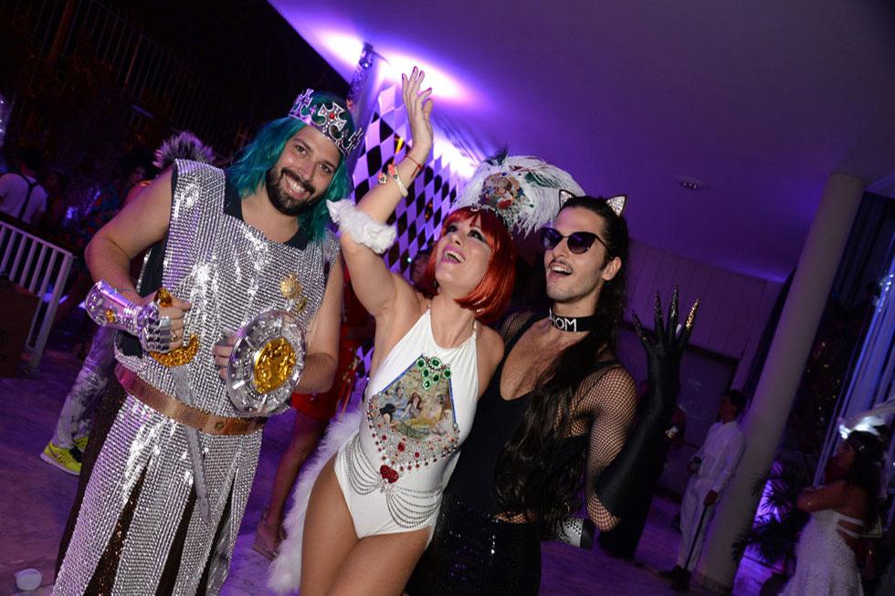 Thomaz Azulay, Marianna Brennand e Patrick Doering (Foto: Juliana Rezende/Reprodução)
