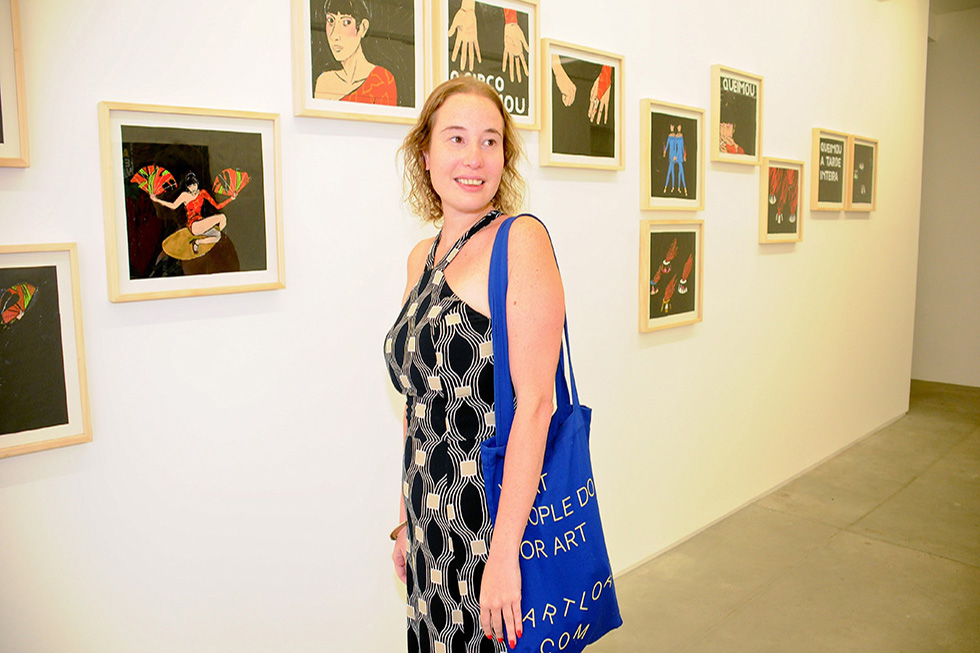 Vivian Gandelsman (Foto: Bruna Guerra/Reprodução)