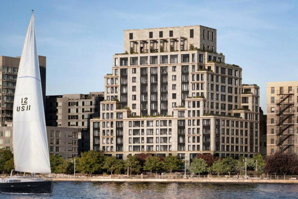 Brasy e Gisele compraram em agosto de 2016 o 70 Vestry, condomínio de luxo no bairro Tribeca, Nova Iorque (Foto: Divulgação)