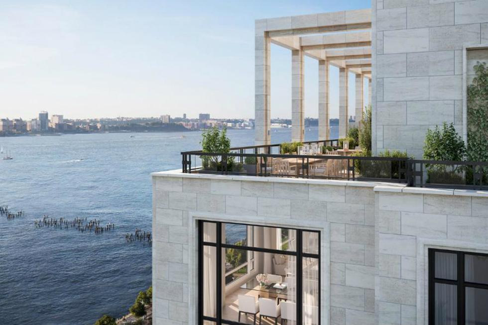 Edifício de 14 andares, desenhado por Robert A. M Stern, localizado no Hudson River Park (Foto: Divulgação)