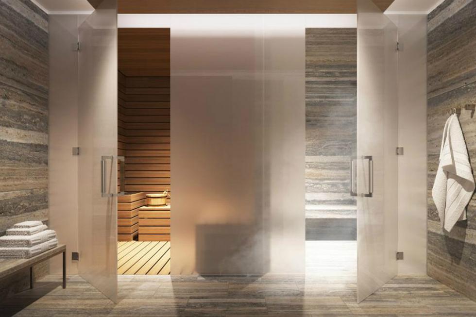 Spa com sauna e sala de vapor (Foto: Divulgação)