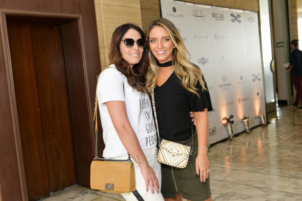 Kika Simonsen e Lele Saddi (Foto: Divulgação)