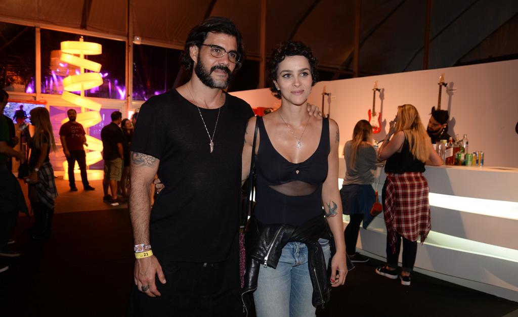 Juliano e Leticia Cazarré