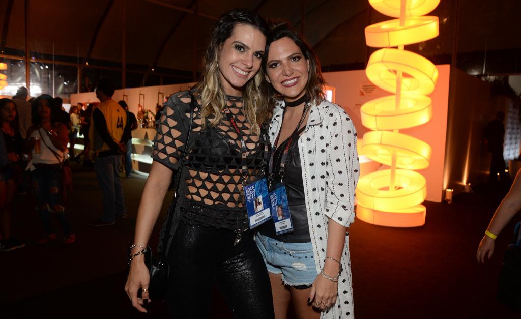 Lívia Rossy e Carol Sampaio