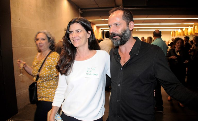 Márcia Fortes e Mauro Restiffe