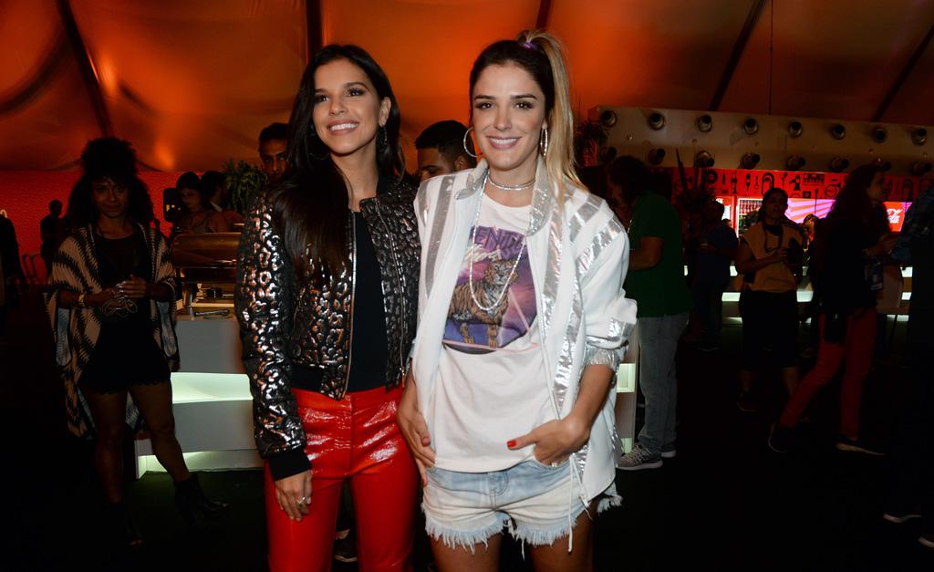 Mariana Rios e Rafa Brites