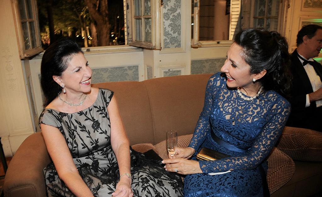 Sonia Chamlian e Deborah Silveira Badejo