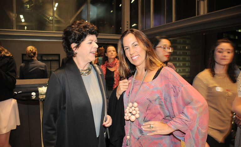 Vera de Alencar e Leticia Lins e Silva