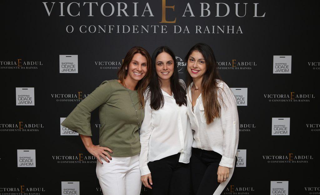 Fernanda Jacomo, Adriana Mazzetti e Maxine-Santana ll Créditos: kenji Nakamura