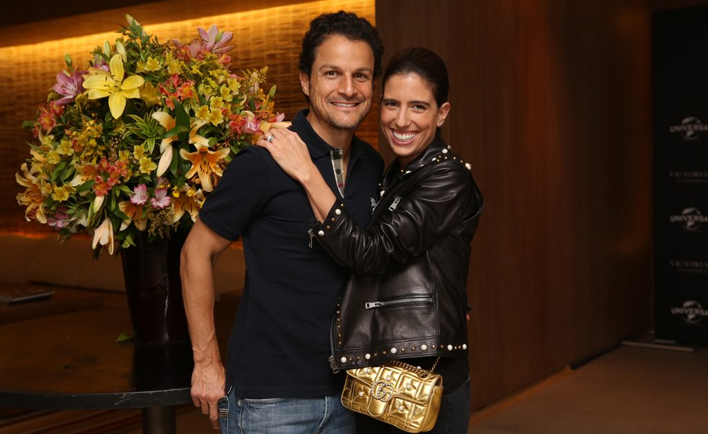 Stephanie Apovian e Marcelo Apovian ll Créditos: kenji Nakamura