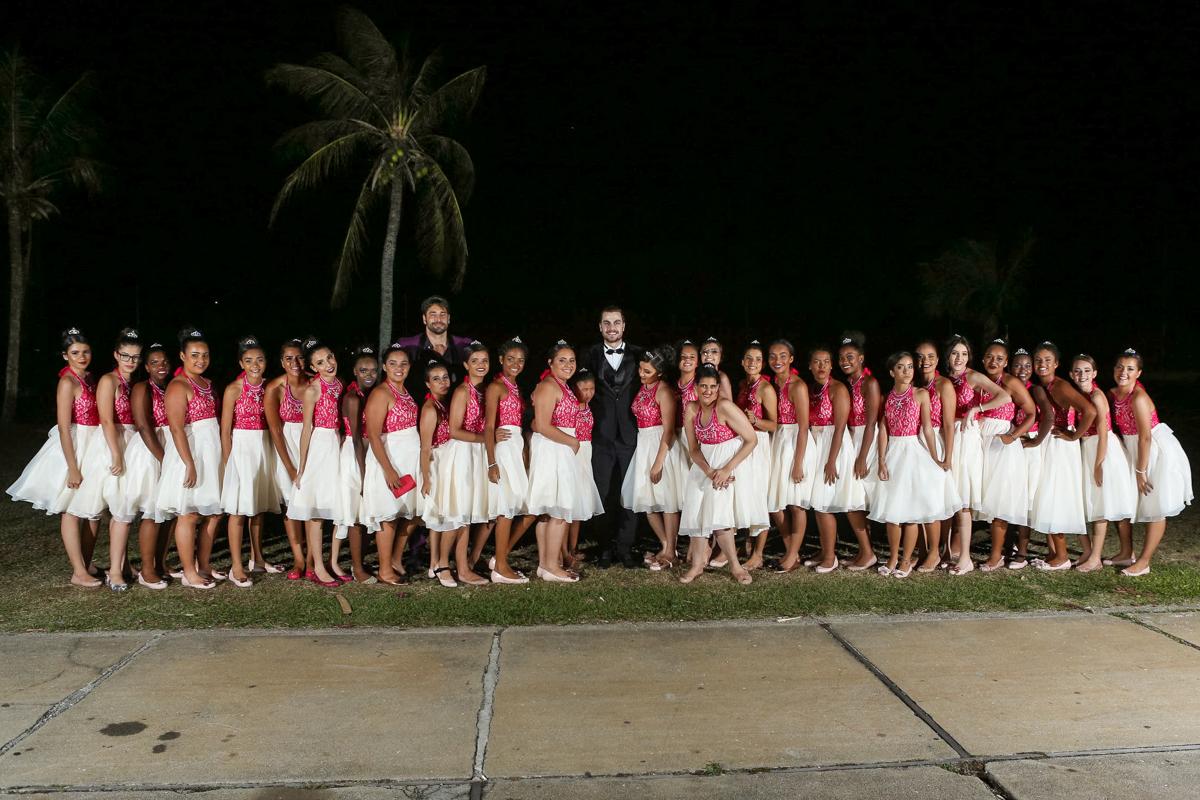 Debutantes do Baile Fadas Madrinhas (Foto: Alexandre Rechtman)
