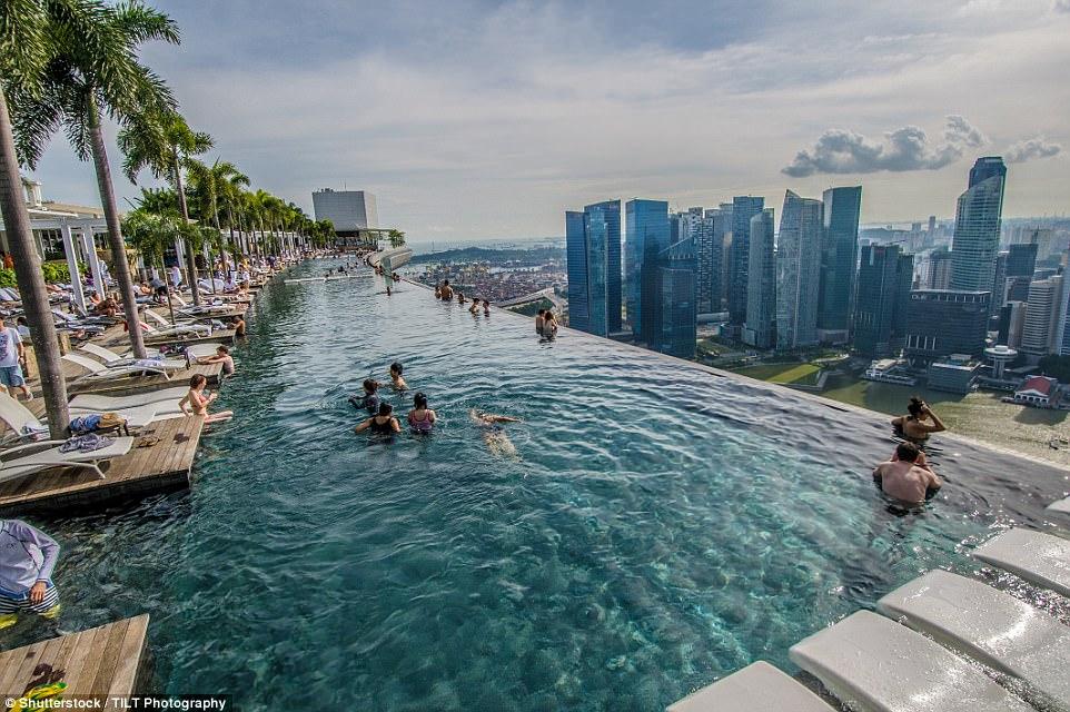 01. Marina Bay Sands - Cingapura: Uma das contruções mais icônicas da cidade asiática, foi o hotel que mais chamou a atenção dos Instagramers em 2017 (Foto: Divulgação)