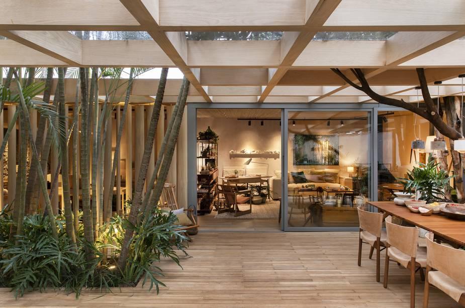 Casa do Bosque  por Cacau Ribeiro Arquitetura de Interiores / Foto: Divulgação