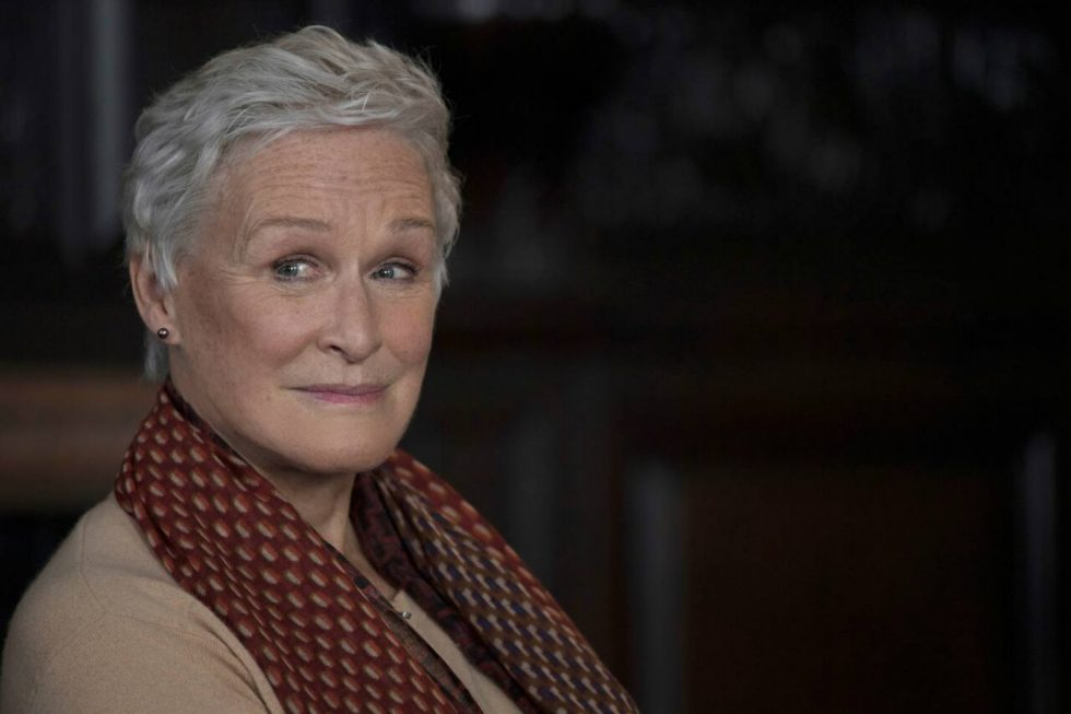 "Glenn Close, por ""A esposa"""