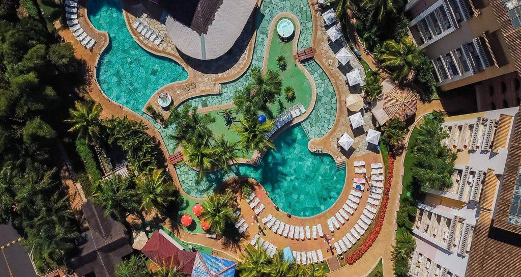 Aguas quentes do Nóbile Resort Thermas de Olimpia