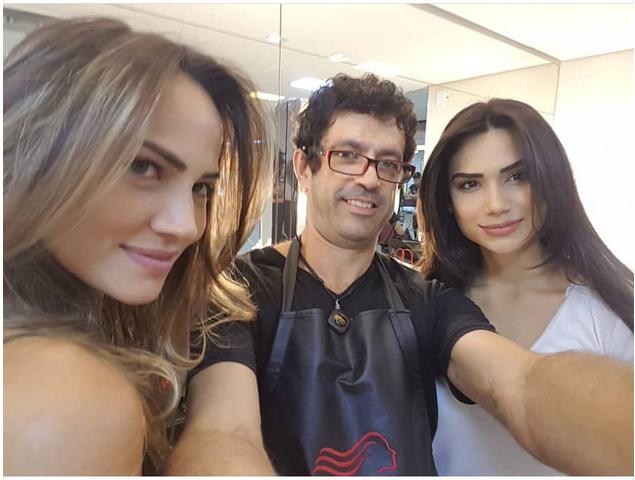 O hair stylist Marcellus Lopez está entre  os melhores coloristas do Brasil selecionados pela L'Oreal