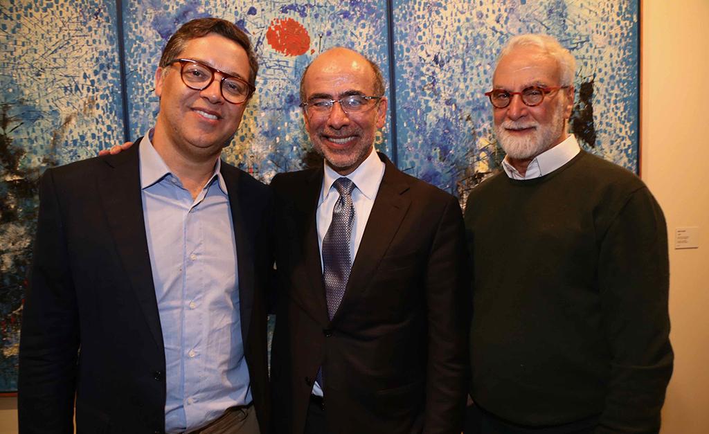 Eduardo Saron, José Olympio Pereira e Ricardo Ribenboim| Divulgação