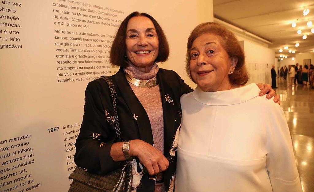 Maria Lucia Segall  e Ivani Yunes| Divulgação