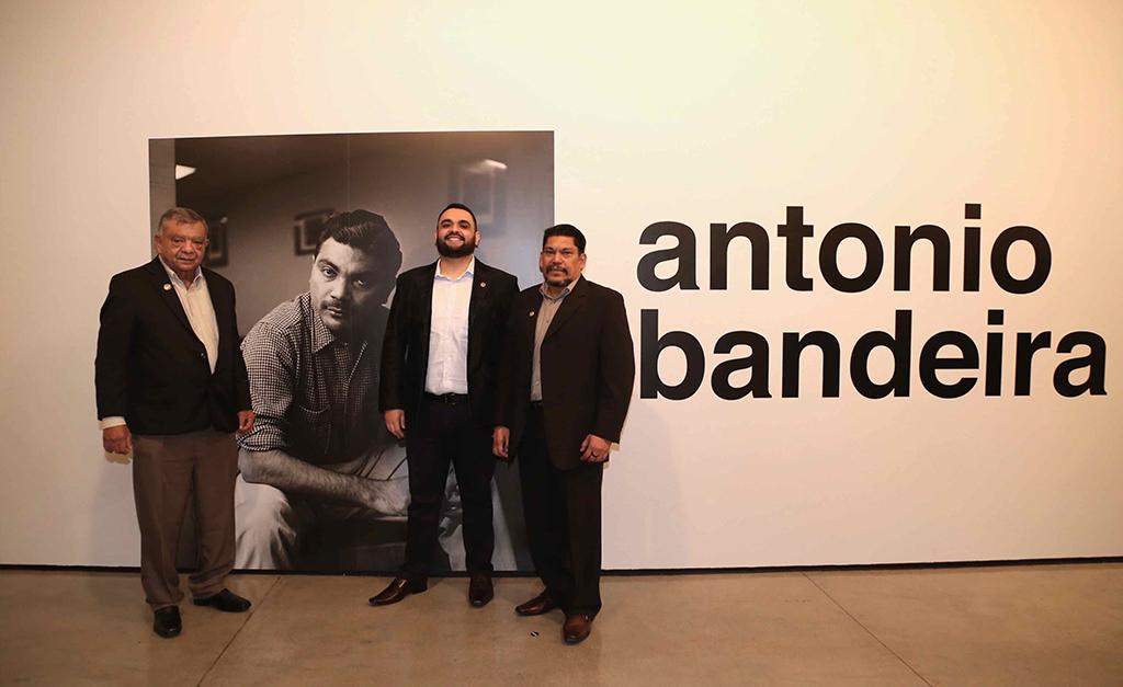 Nilson, Emanuel e Francisco Bandeira| Divulgação