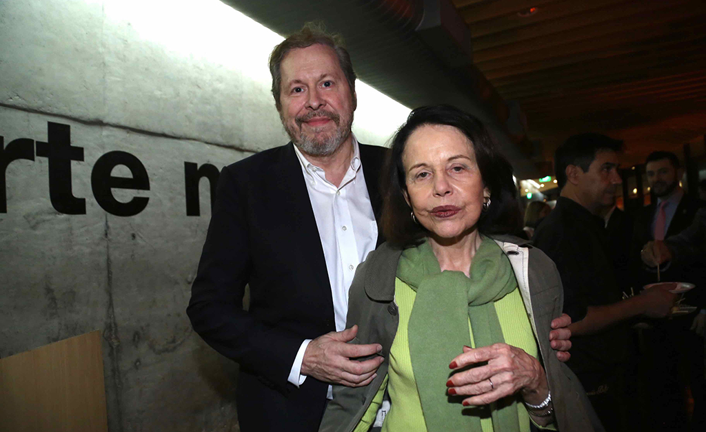 Pedro Correa do Lago e Maria Ignez Barbosa| Divulgação