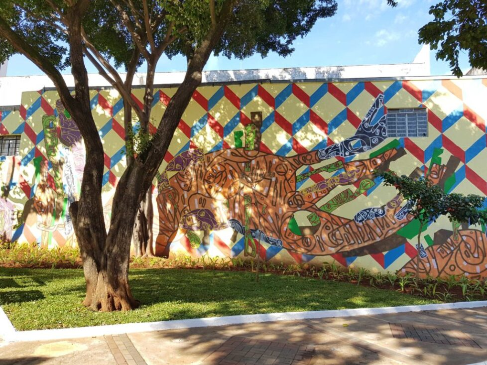 Mural Praça Estação Brás_ ciro Schu